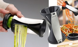 Уникална резачка за зеленчуци на ивички